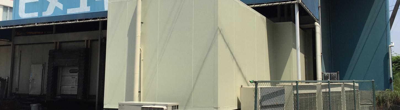 ㈱ヒメユキCS エリア:姫路市 施工内容:冷凍倉庫増築